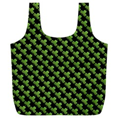 St Patrick S Day Background Full Print Recycle Bags (L)