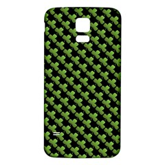 St Patrick S Day Background Samsung Galaxy S5 Back Case (White)
