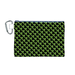 St Patrick S Day Background Canvas Cosmetic Bag (M)