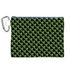 St Patrick S Day Background Canvas Cosmetic Bag (xl)