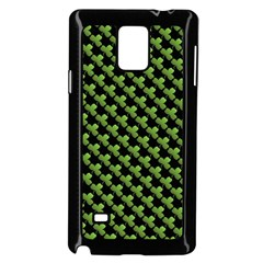 St Patrick S Day Background Samsung Galaxy Note 4 Case (Black)