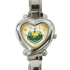 Irish St Patrick S Day Ireland Beer Heart Italian Charm Watch