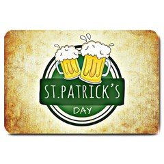 Irish St Patrick S Day Ireland Beer Large Doormat