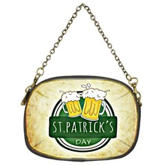 Irish St Patrick S Day Ireland Beer Chain Purses (two Sides)