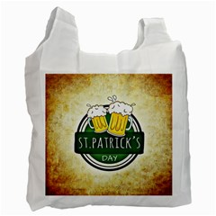 Irish St Patrick S Day Ireland Beer Recycle Bag (One Side)