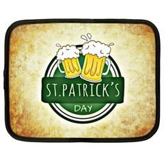 Irish St Patrick S Day Ireland Beer Netbook Case (XL)