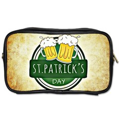 Irish St Patrick S Day Ireland Beer Toiletries Bags 2-Side