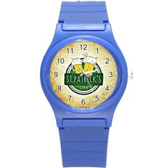 Irish St Patrick S Day Ireland Beer Round Plastic Sport Watch (s)