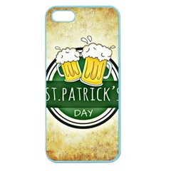 Irish St Patrick S Day Ireland Beer Apple Seamless Iphone 5 Case (color)
