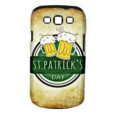 Irish St Patrick S Day Ireland Beer Samsung Galaxy S III Classic Hardshell Case (PC+Silicone)