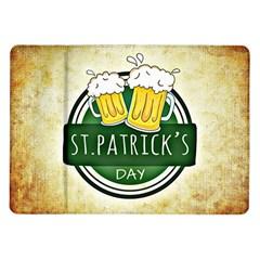 Irish St Patrick S Day Ireland Beer Samsung Galaxy Tab 10.1  P7500 Flip Case