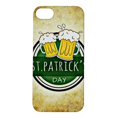 Irish St Patrick S Day Ireland Beer Apple iPhone 5S/ SE Hardshell Case