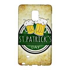 Irish St Patrick S Day Ireland Beer Galaxy Note Edge