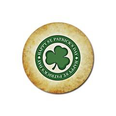 Irish St Patrick S Day Ireland Rubber Round Coaster (4 pack)