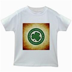 Irish St Patrick S Day Ireland Kids White T-Shirts