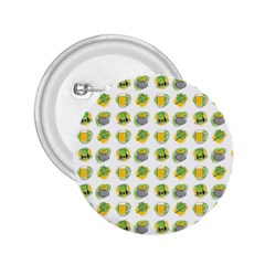 St Patrick S Day Background Symbols 2.25  Buttons