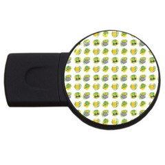 St Patrick S Day Background Symbols Usb Flash Drive Round (4 Gb)