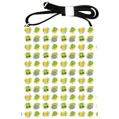 St Patrick S Day Background Symbols Shoulder Sling Bags