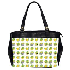 St Patrick S Day Background Symbols Office Handbags (2 Sides)