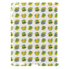 St Patrick S Day Background Symbols Apple iPad 3/4 Hardshell Case (Compatible with Smart Cover)