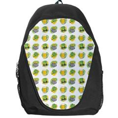 St Patrick S Day Background Symbols Backpack Bag