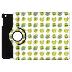 St Patrick S Day Background Symbols Apple Ipad Mini Flip 360 Case