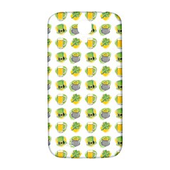 St Patrick S Day Background Symbols Samsung Galaxy S4 I9500/I9505  Hardshell Back Case
