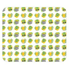 St Patrick S Day Background Symbols Double Sided Flano Blanket (Small)