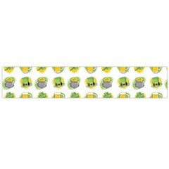St Patrick S Day Background Symbols Flano Scarf (Large)