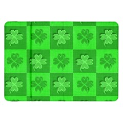 Fabric Shamrocks Clovers Samsung Galaxy Tab 8.9  P7300 Flip Case
