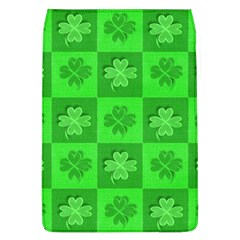 Fabric Shamrocks Clovers Flap Covers (L)