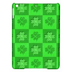 Fabric Shamrocks Clovers Ipad Air Hardshell Cases