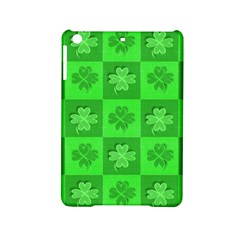 Fabric Shamrocks Clovers Ipad Mini 2 Hardshell Cases