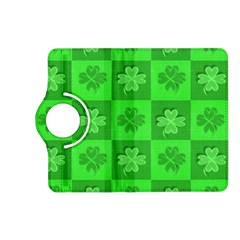 Fabric Shamrocks Clovers Kindle Fire HD (2013) Flip 360 Case