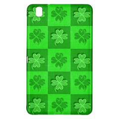 Fabric Shamrocks Clovers Samsung Galaxy Tab Pro 8.4 Hardshell Case