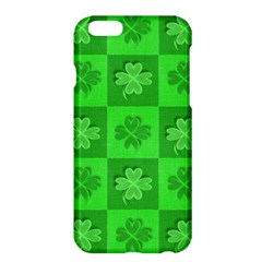 Fabric Shamrocks Clovers Apple iPhone 6 Plus/6S Plus Hardshell Case