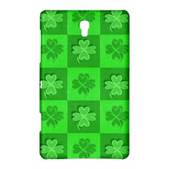 Fabric Shamrocks Clovers Samsung Galaxy Tab S (8.4 ) Hardshell Case