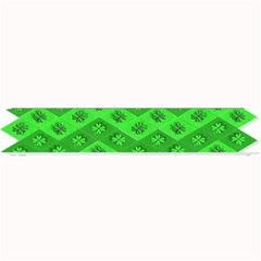 Shamrocks 3d Fabric 4 Leaf Clover Small Bar Mats