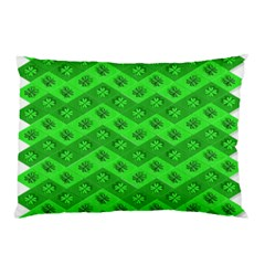 Shamrocks 3d Fabric 4 Leaf Clover Pillow Case (Two Sides)