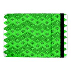 Shamrocks 3d Fabric 4 Leaf Clover Samsung Galaxy Tab Pro 10.1  Flip Case
