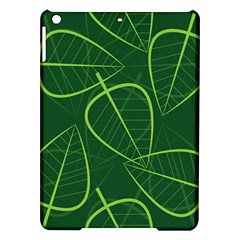 Vector Seamless Green Leaf Pattern iPad Air Hardshell Cases