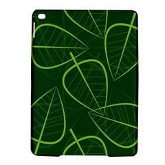 Vector Seamless Green Leaf Pattern iPad Air 2 Hardshell Cases