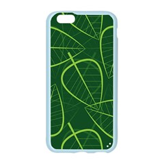 Vector Seamless Green Leaf Pattern Apple Seamless iPhone 6/6S Case (Color)