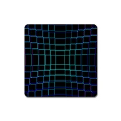 Abstract Adobe Photoshop Background Beautiful Square Magnet