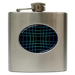 Abstract Adobe Photoshop Background Beautiful Hip Flask (6 oz)
