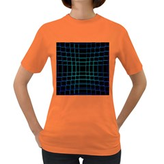Abstract Adobe Photoshop Background Beautiful Women s Dark T-Shirt
