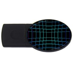 Abstract Adobe Photoshop Background Beautiful USB Flash Drive Oval (4 GB)