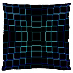 Abstract Adobe Photoshop Background Beautiful Large Cushion Case (One Side)