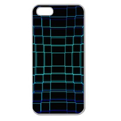 Abstract Adobe Photoshop Background Beautiful Apple Seamless iPhone 5 Case (Clear)