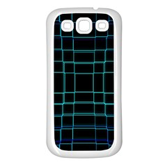 Abstract Adobe Photoshop Background Beautiful Samsung Galaxy S3 Back Case (White)